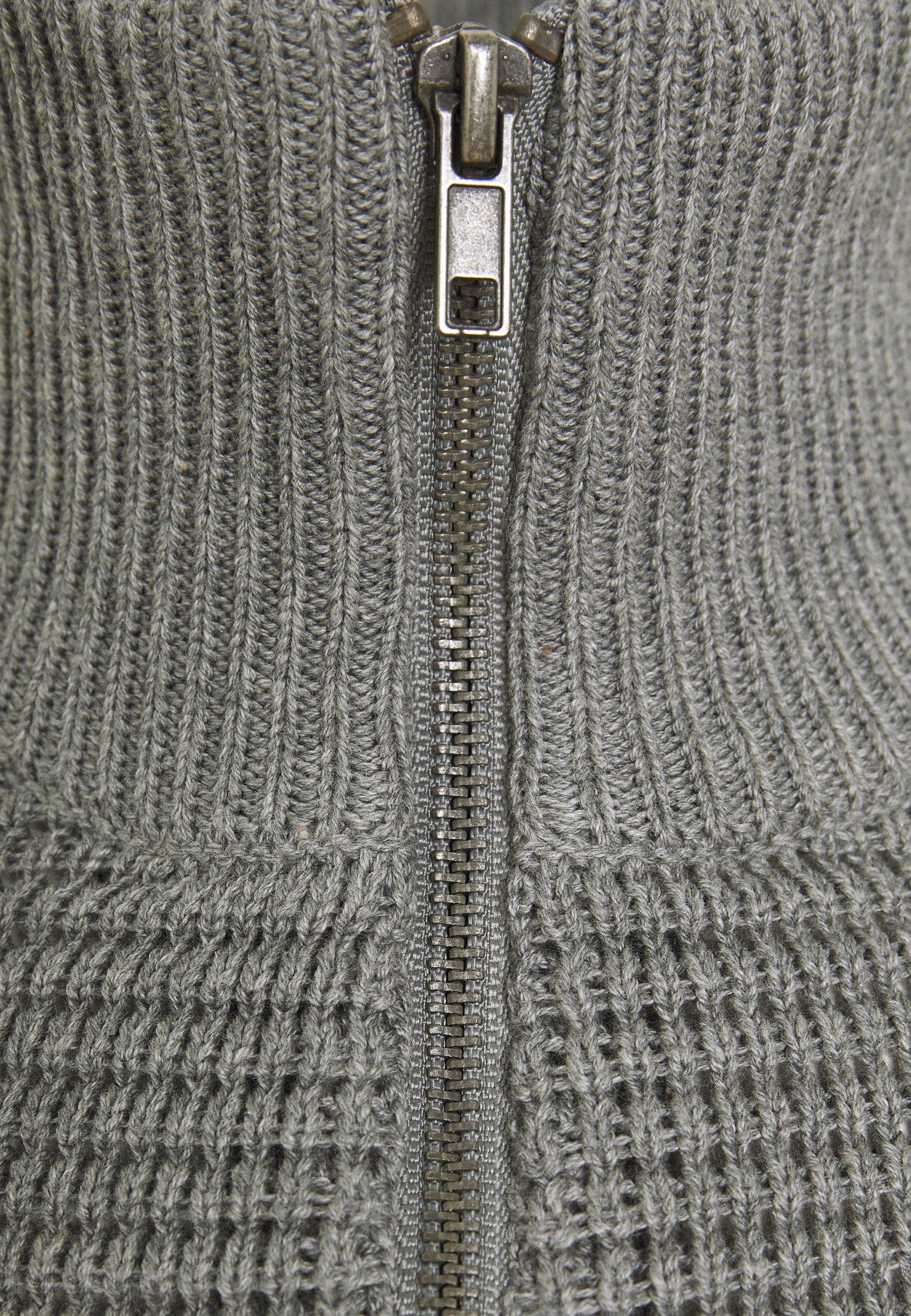 Pier One Cardigan - Mottled Light Grey