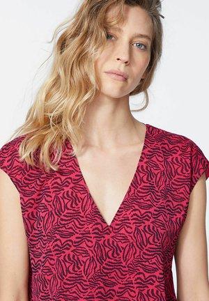Print T-shirt - pink vibe