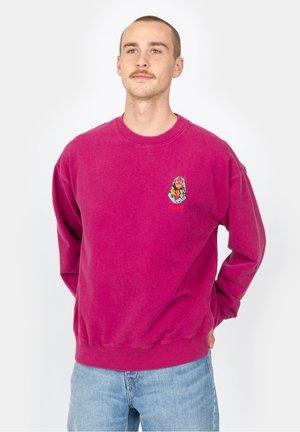 BLACK SOUNDS CREW - Sweatshirt - raspberry radiance