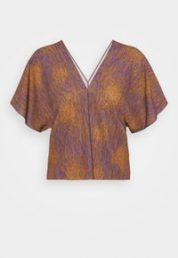 JELLY BLOUSE - Blouse - melted rust