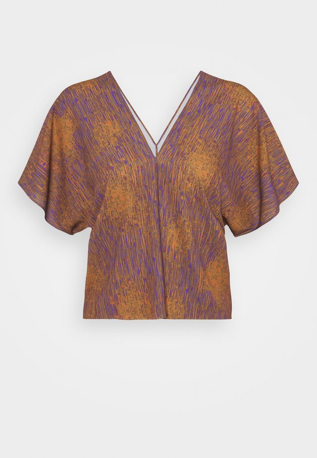 JELLY BLOUSE - Camicetta - melted rust