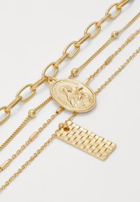 Pieces - PCKLARA COMBI NECKLACE - Halskæder - gold-coloured - 2