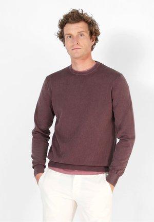 VINTAGE  - Sweter - burgundy