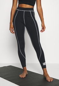 HIIT - VICTORIA SCULPTED LEGGING - Medias - black - 0