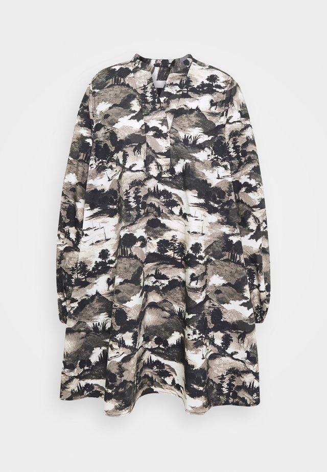 EDDA FIELD THINKTWICE - Korte jurk - black