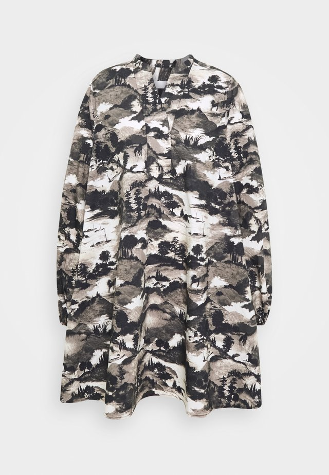 EDDA FIELD THINKTWICE - Robe d'été - black