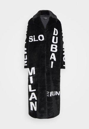 EXCLUSIVE LUNA - Zimní kabát - black