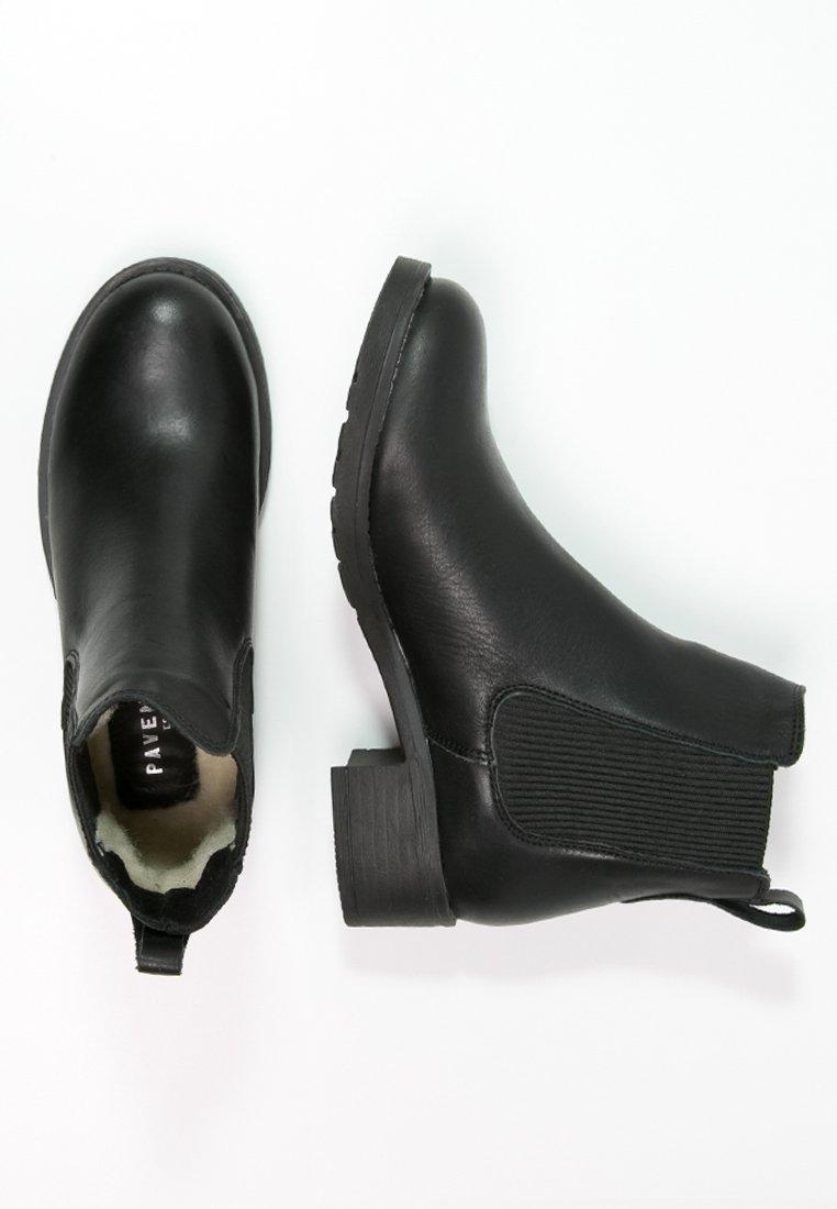 Pavement Christina - Støvletter Black/svart