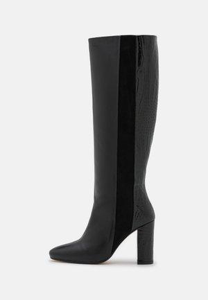 VOLKER - Vysoká obuv - noir