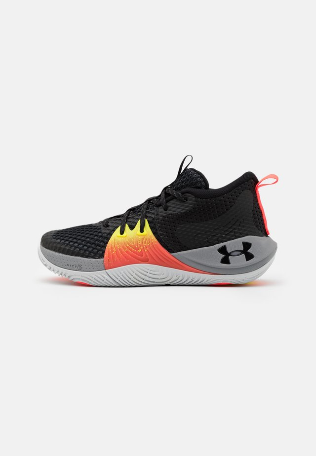 GS EMBIID UNISEX - Basketbalové boty - black