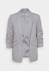 Dorothy Perkins Petite - ROUCHED SLEEVE - Blazer - dark grey - 4