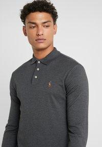 Polo Ralph Lauren - PIMA KNT - Polo shirt - dark grey heather - 4