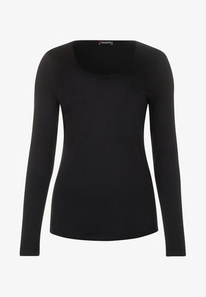LANEA - Long sleeved top - black