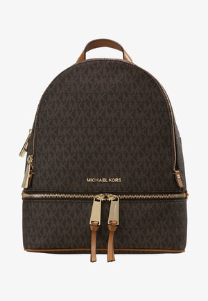 RHEA ZIP BACK PACK - Rucksack - brown
