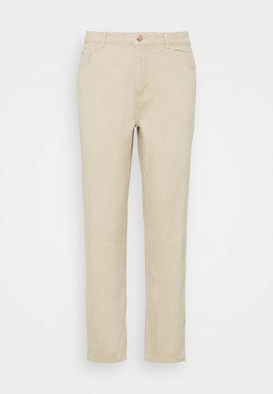 PALE WASH RIOT - Jeans straight leg - stone
