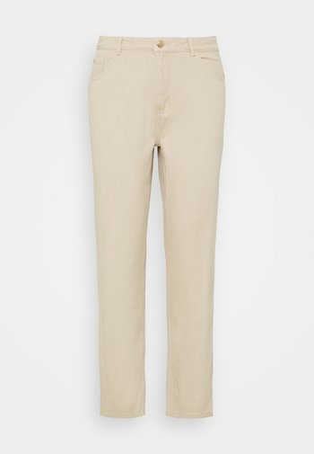 PALE WASH RIOT - Straight leg jeans - stone