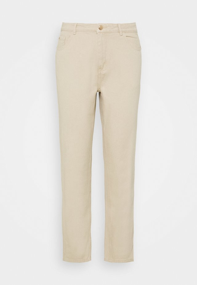 PALE WASH RIOT - Jeans a sigaretta - stone