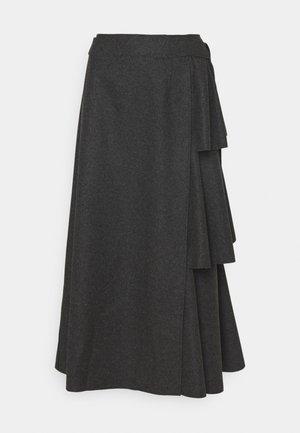 SKIRT - Zavinovací sukně - grey