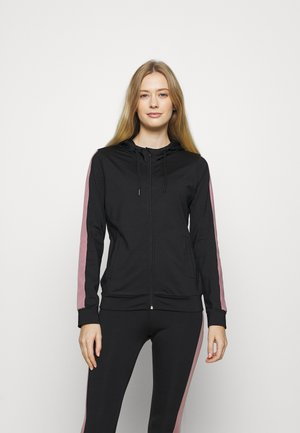WINTER - BRUSHED INNER MATERIAL - Treningsjakke - black