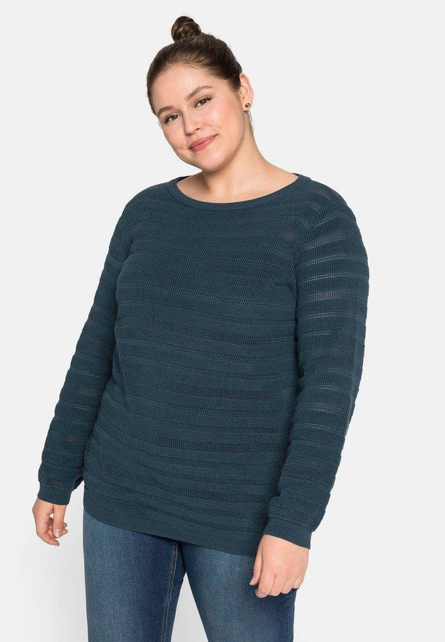 Pullover - dunkelpetrol