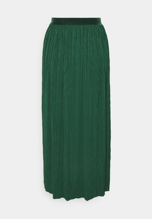 A-line skirt - emerald green