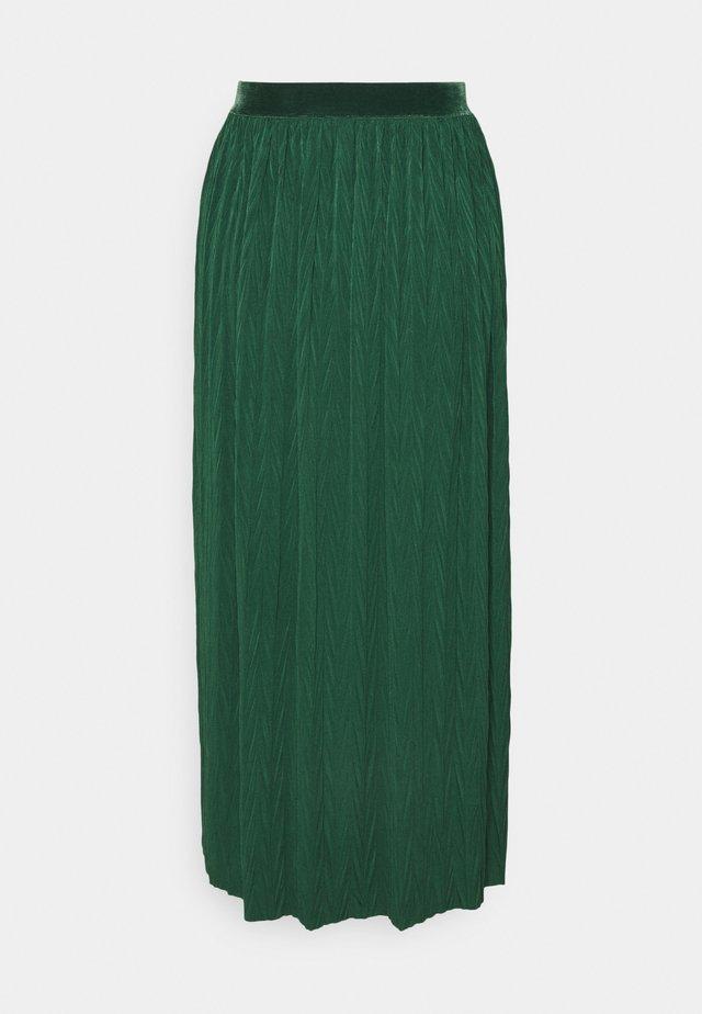 A-lijn rok - emerald green