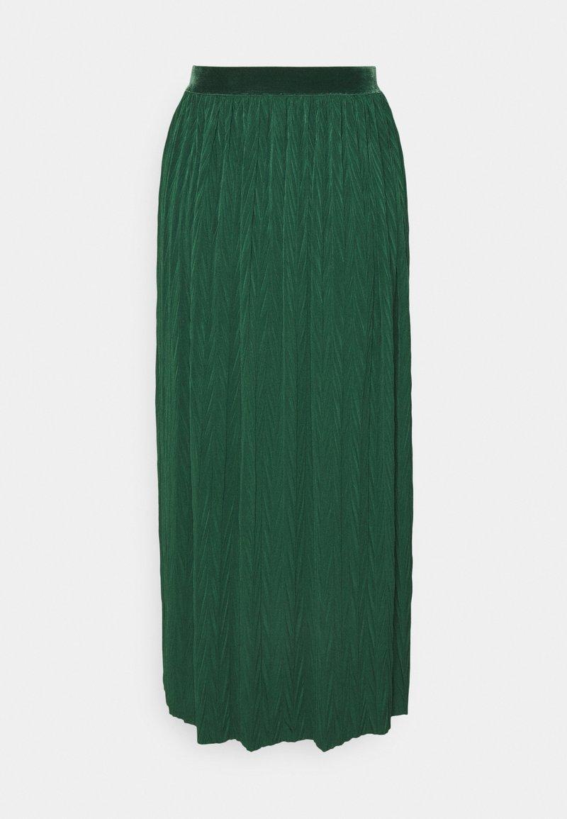 Rich & Royal - A-line skirt - emerald green