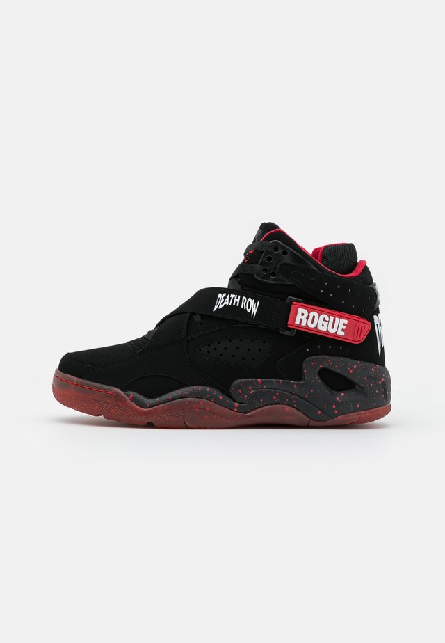 ROGUE DEATH ROW - Sneakersy wysokie - black/chinese red/white