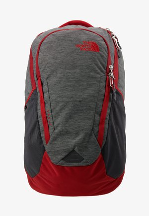 VAULT 26,5L - Batoh - dark grey heather/cardinal red