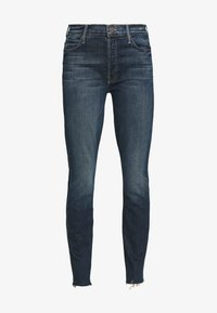 Mother - THE STUNNER FRAY - Jeans Skinny Fit - roasting nuts - 4
