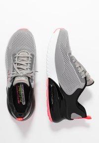 Skechers Sport - SKECH-AIR STRATUS - Slip-ons - gray/black/pink - 3