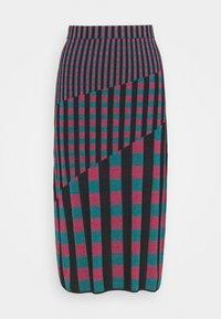 Diane von Furstenberg - SKIRT - Pencil skirt - grape/purple/green - 5