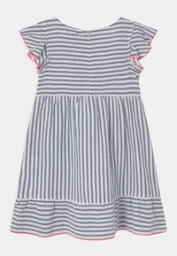 Lemon Beret - SMALL GIRLS - Day dress - blue/white - 1
