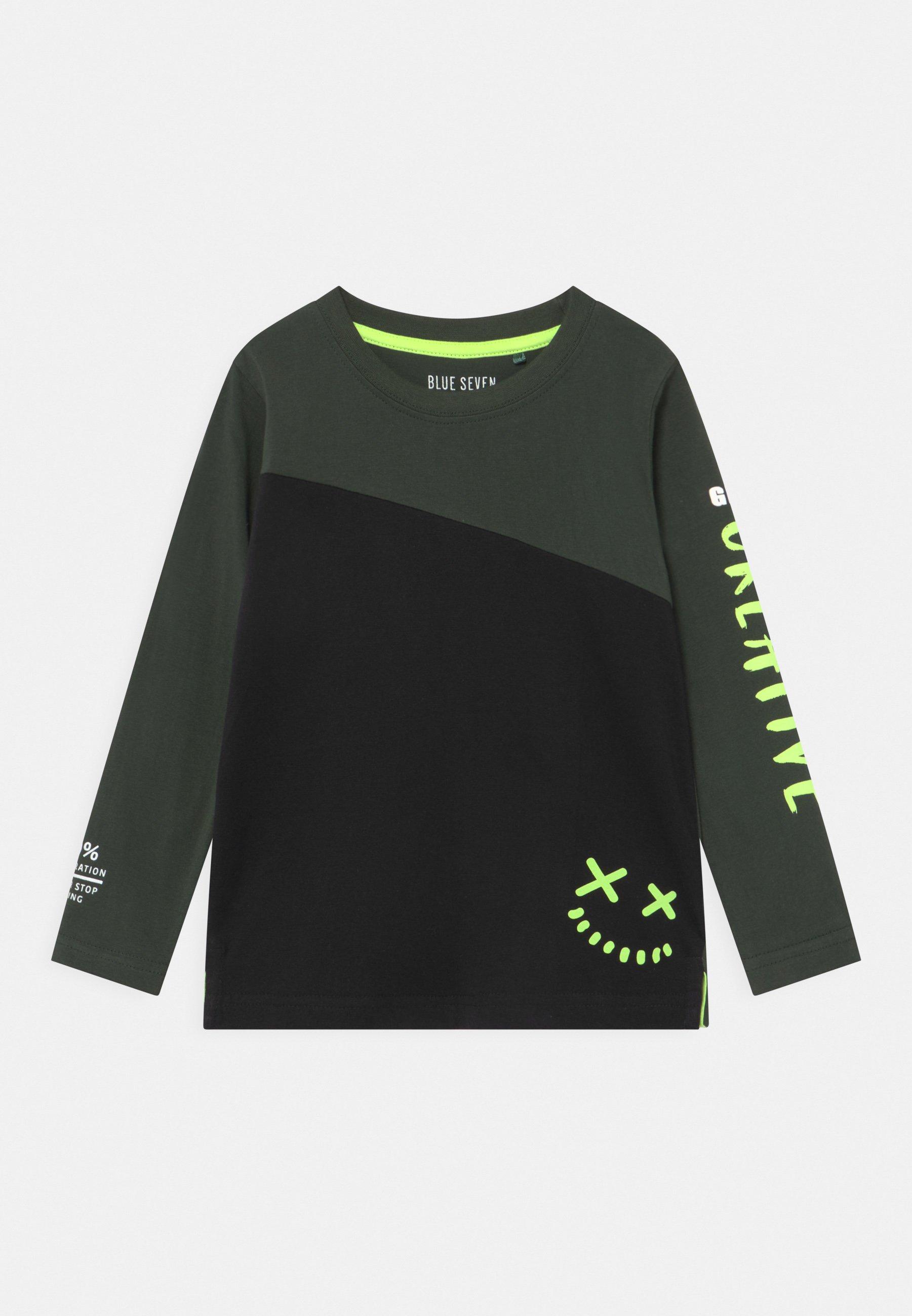 Børn KIDS SMALL BOYS - Langærmede T-shirts - schwarz