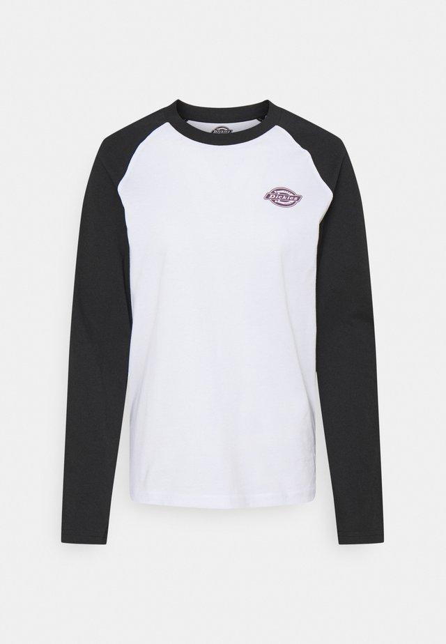 MADELIA - T-shirt à manches longues - black