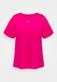 Nike Performance - ALL OVER PLUS - Basic T-shirt - fireberry/white - 0