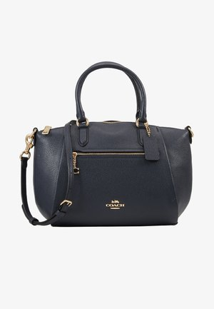 POLISHED ELISE SATCHEL - Håndtasker - midnight navy