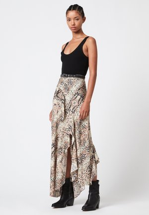 RAYA ARIETTA  - Maxi skirt - multi-coloured