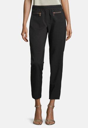 MIT ELASTISCHEM BUND - Trousers - schwarz