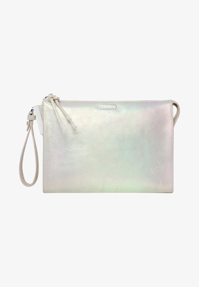 LUXURY IVA - Clutch - pearl pearlescent