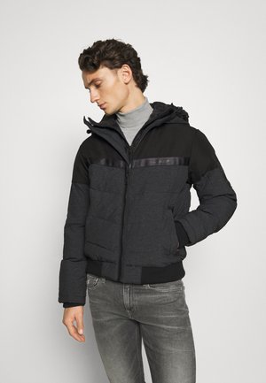 JCOCHARLES HOODED - Winterjas - black