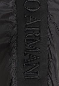Emporio Armani - BLOUSON JACKET - Summer jacket - black - 8