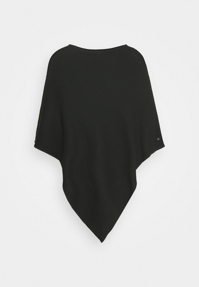 PONCH - Cape - black