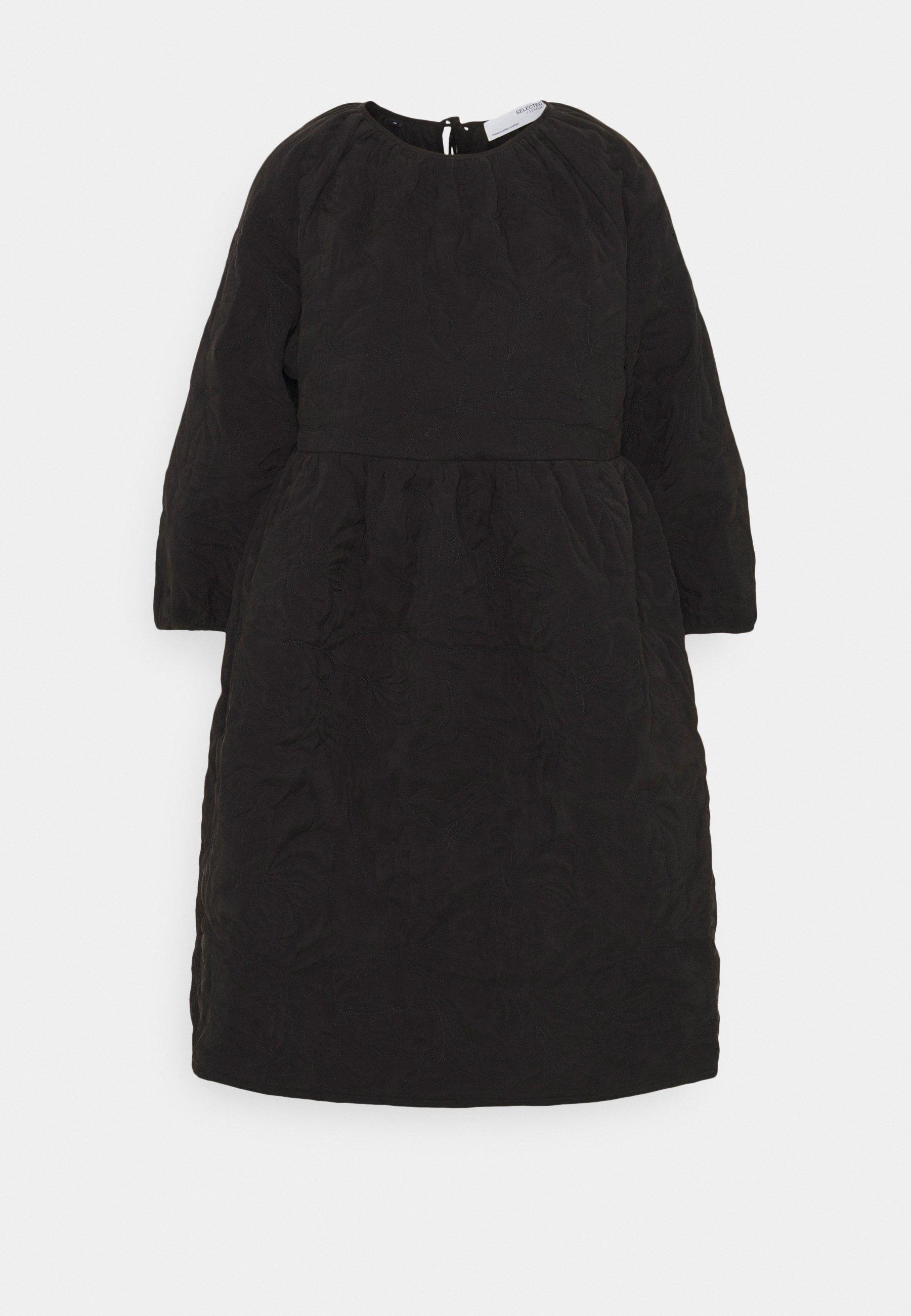 Women SLFKVIST 0QUILTED DRESS - Day dress