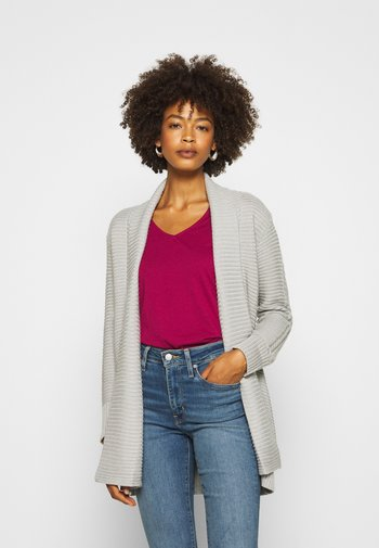 THICK SHAWL CARDIGAN