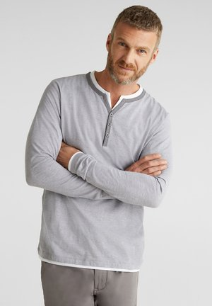 Long sleeved top - medium grey