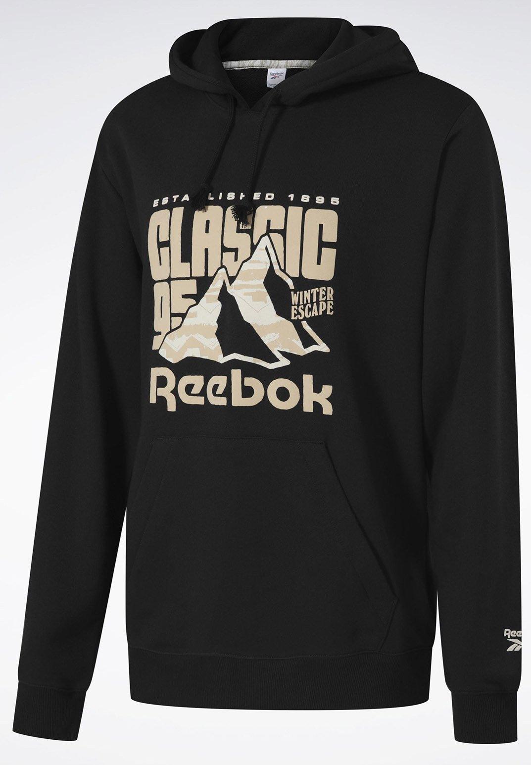 Reebok Classic CLASSICS WINTER ESCAPE HOODIE - Hoodie - black