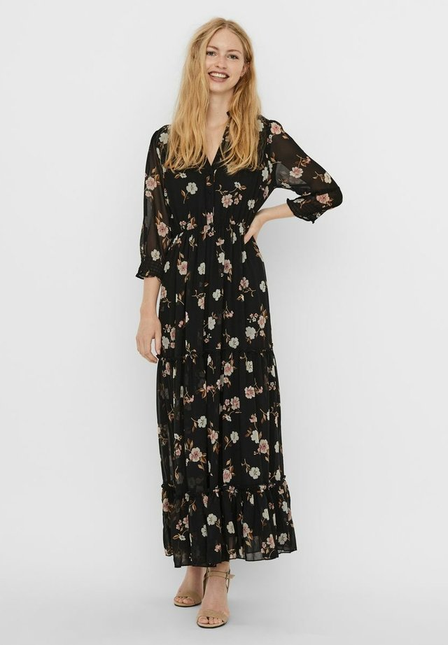 VMTALLIE FLOUNCE DRESS - Robe longue - black