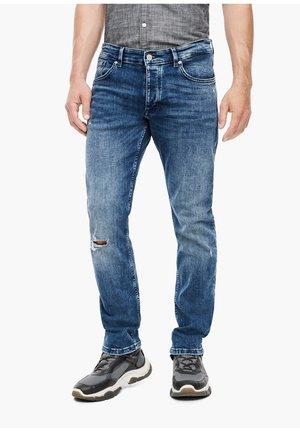MIT DESTROYES - Slim fit jeans - blue
