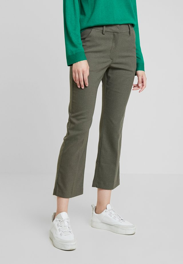 CLARA CROPPED - Trousers - army theory